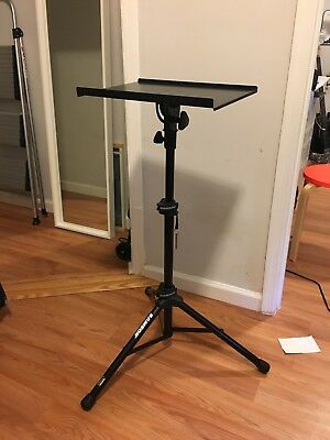 Samson LTS50 Black Adjustable Height Laptop Stand - Sturdy/in great condition