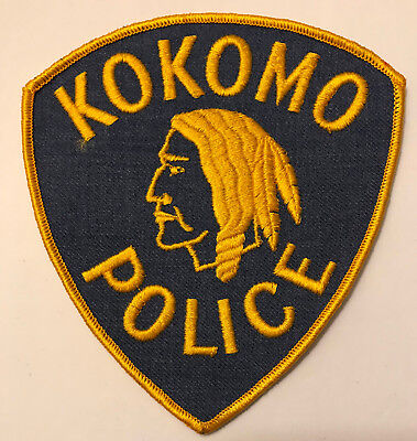 Kokomo Howard County Indiana IN Police Sheriff Patch Indian Head
