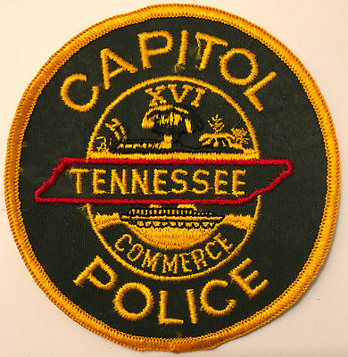 Tennessee TN Capitol Capital State Trooper Police Sheriff Patch