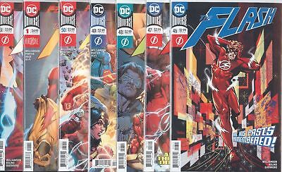 Flash Wars #46 47 48 49 50 51 46-51 & Annual 1 1St Print Set Nm