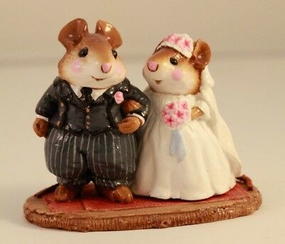 Wee Forest Folk Wedding Mice M-67