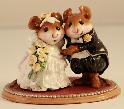 Wee Forest Folk Wedding Mice  M-200