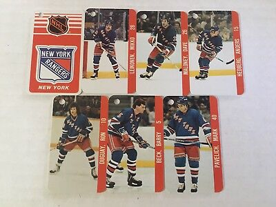 New York Rangers NHL NHLPA Collection Vintage Team Key Chain 1983