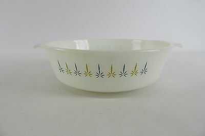 Anchor Hocking Fire King 2 Qt Candle Glow Casserole