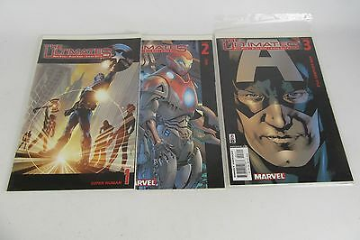 Marvel The Ultimates Lot of 3 #1 #2 & #3 Miller Hitch Curris
