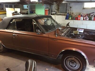 1965 Plymouth valiant signet 1965 Plymouth Valiant Convertible