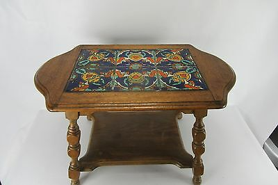 Lovely California Tile Table in very good condition.