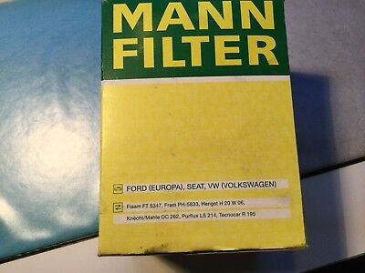 FILTRE A HUILE NEUF VW  SEAT 1900TDI  DIESEL ford  OLIE FILTER