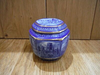 Ringtons 80th Anniversary decorative Ginger/tea jar with lid (box17)