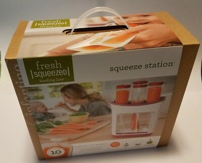 Infantino Squeeze Station # 208-101 NIB Factory Sealed