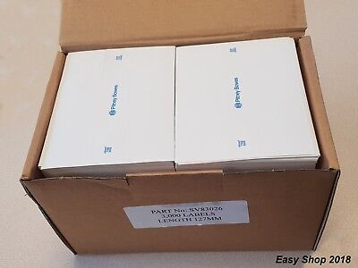 Franking Machine Double Mailing Labels Genuine Pitney Bowes 3000 Labels in Box