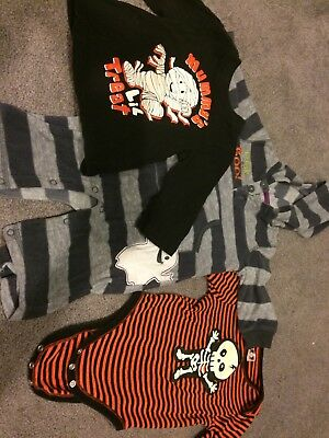 Lot Of Infant Halloween Clothes