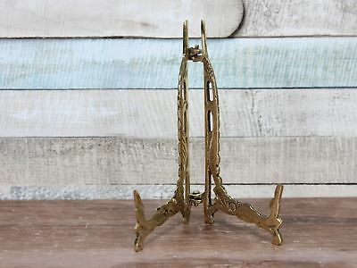 Brass Plate Display Stand