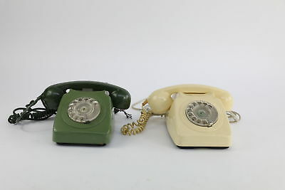 Lot of 2 x Vintage Telephones Mixed designs Untested