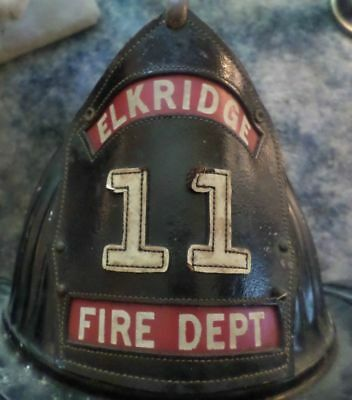 Vintage Cairns Fire Helmet Elkridge Maryland