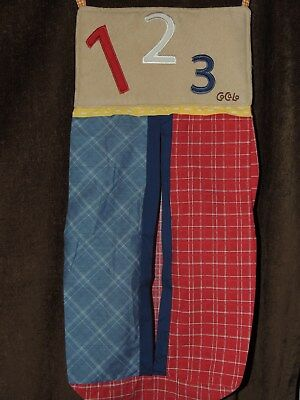 COCALO A to Z BOYS DIAPER STACKER 123 RED BLUE