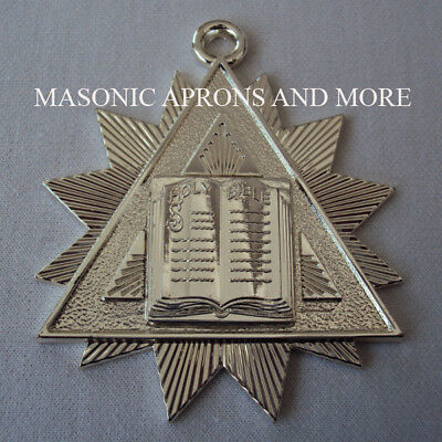 Masonic Regalia-Chaplain Collar Jewel