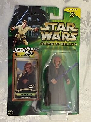 Star Wars Power of the Jedi Force File Saesee Tiin 2000