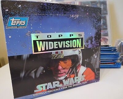 1994 TOPPS STAR WARS A NEW HOPE WIDEVISION 120 Card Set and extras
