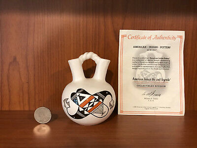 American Indian Pottery Series Collectibles Division COA Life and Legends