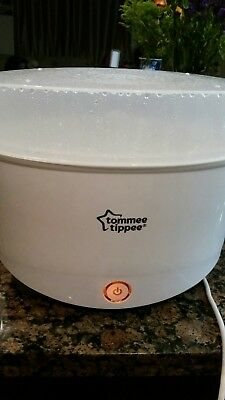 Top quality Tommee Tippee Electric Steam Sterilizer Close to Nature White