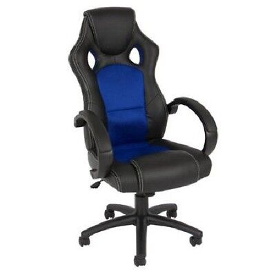 Computer Desk Chair Office High Back Seat Executive Task Leather Swivel Racing