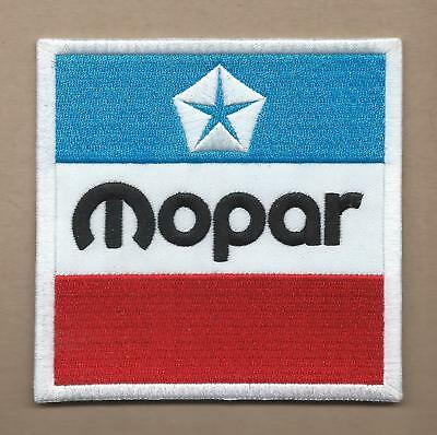 New 4 Inch Dodge Mopar Iron On Patch Free Shipping M2