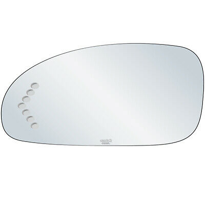 New Door Mirror Glass Replacement Driver Side Heated For Buick Lesabre 2000-05