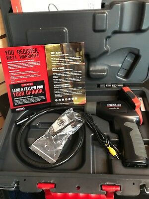RIDGID 40043 With Case MICRO CA-25 HANDHELD INSPECTION CAMERA KIT, FREE SHIPPING