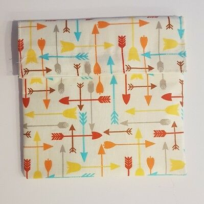 Lunch Pocket Sandwich snack Wrap pouch recycled plastic eco friendly hand made