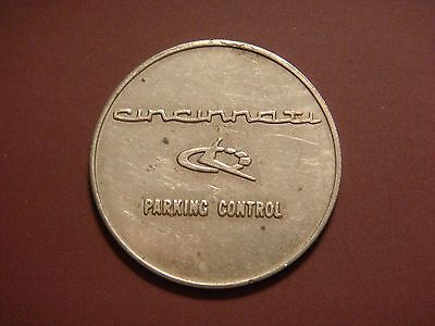 Cincinnati Parking Control Token: Cincinnati, OH