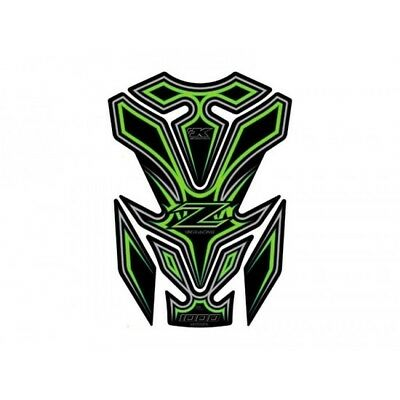 Protection de reservoir kawasaki green Motografix TK016G