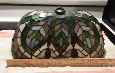 Stained Glass Lamp Shade Tiffany Style