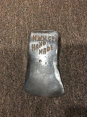 Vintage Mwh Co Hand Made Axe Head