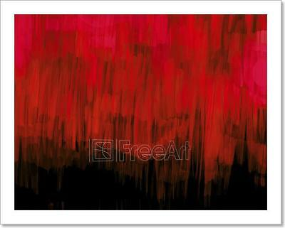 Digital Painting Abstract Background Art Print Home Decor Wall Art Poster - G