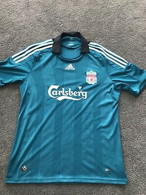 Genuine Liverpool FC Adidas Jersey Top Mens Size L