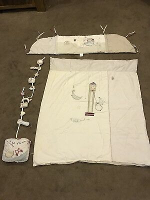 Mamas and Papas Light of the Moon Baby Cot/Bedroom Set