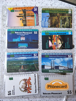 Telstra Phonecard Group 19 with card page 1 hole