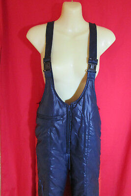 Ski/Snow Padded/Waterproof/Unisex Overall Navy/Red Adult Icelandic REDUCED Sze85