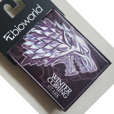 HBO Game of Thrones House of Stark House Stark of Winterfe wallets Purse Leathe