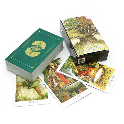 Full English Nature Tarot cards animal playing game deviation deck board gift