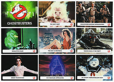 2016 Cryptozoic Ghostbusters Complete 54 Card Base Set + All 5 Chase Card Sets