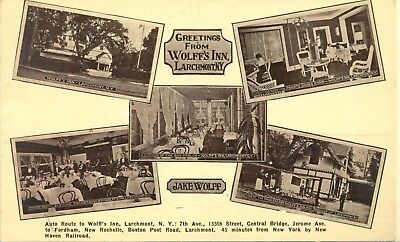 Larchmont N.Y. 1C. 1920s Wolff's Inn now Albee Court Apartments
