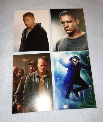 ★ WENTWORTH MILLER ★ 4 Photos 13x18 Fotos ★ Prison Break ★ very rare ★