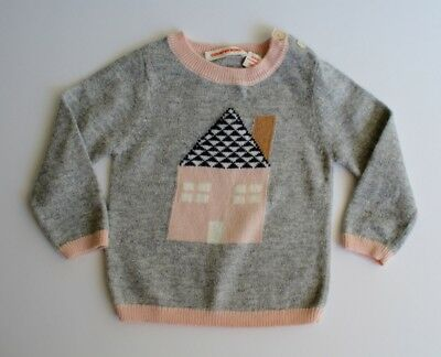 Country Road Grey & Pink Knit