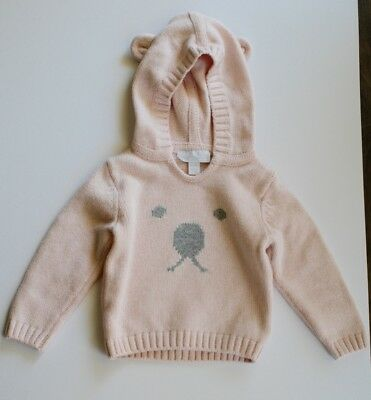 The Little White Company Pink Jumper