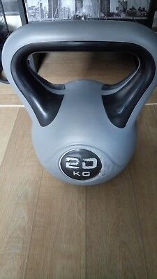 Kettle Bell 20kg used but life in it yet bargain