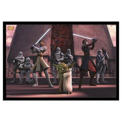 Star Wars Trends International Poster - The Clone Wars Group RP 9615 New