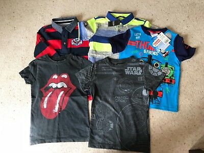 Bundle boys t-shirts - age 3-4 years - New and used