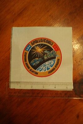 Authentic Nasa Astp Mission Crew Patch